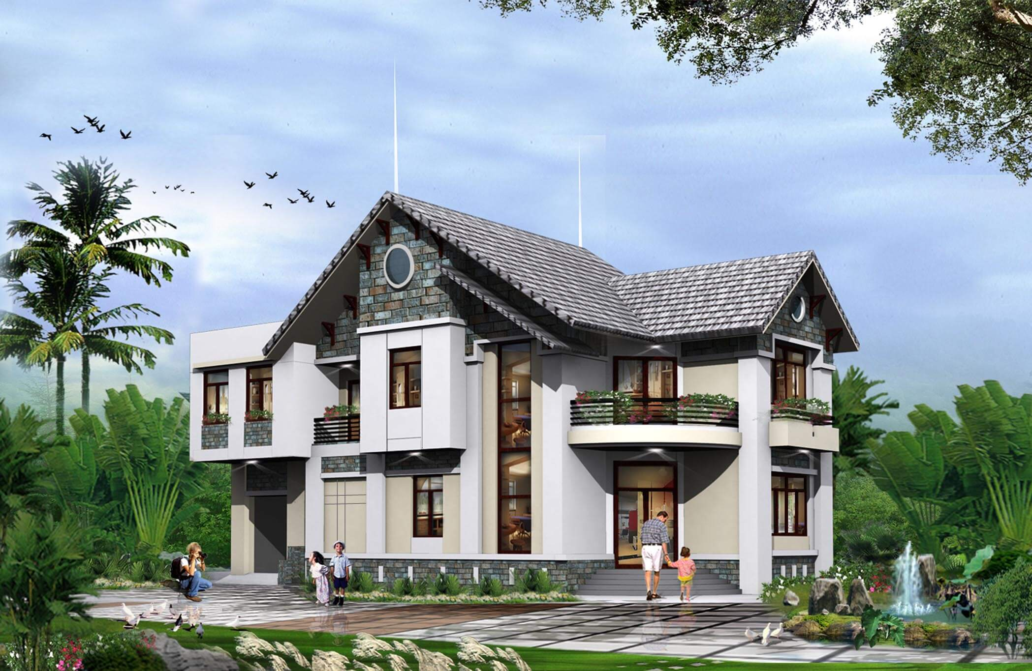 hình ngôi nhà đẹp nhất