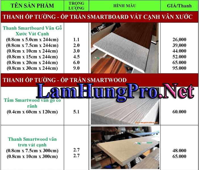 giá gỗ ốp tường