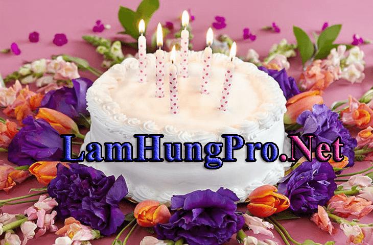 Hình bánh sinh nhật