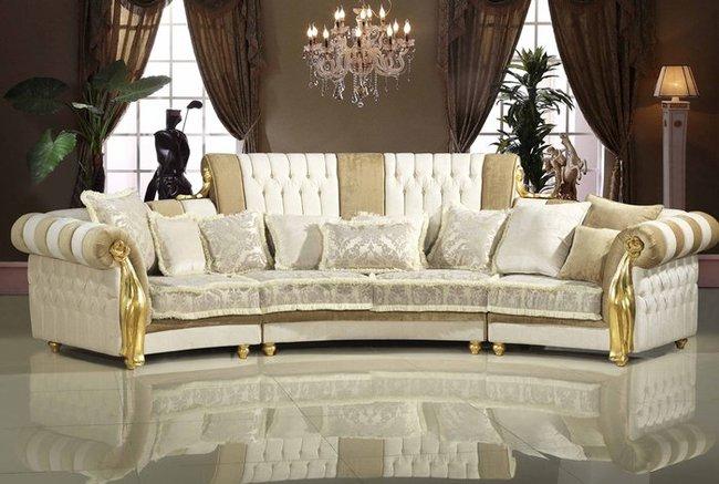 Sofa tân cổ điển châu âu nhập khẩu