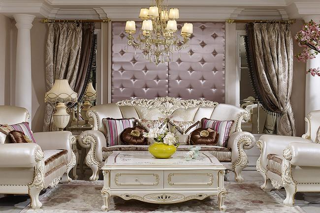 Mẫu sofa thiết kế theo phong cách tân cổ điển cực kỳ sang trọng