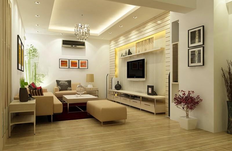 Xu hướng thiết kế nội thất phòng khách đơn giản không bao giờ lỗi mốt 1